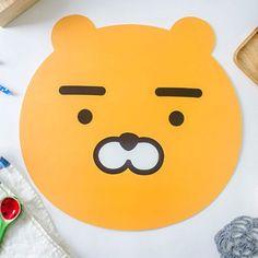Kakao Friends Official Goods 2P Set Ryan Face Table/Desk Mat Desk Accessory  #kakaoFriends