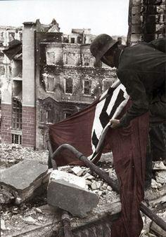 Nazi Flag over Stalingrad 1942