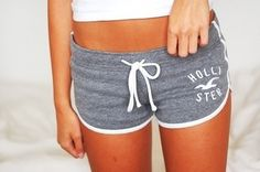 Hollister grey shorts