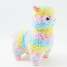 Alpacasso Plushies - Rainbow (Big)