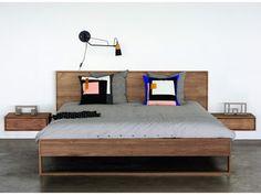 TEAK NORDIC II BED