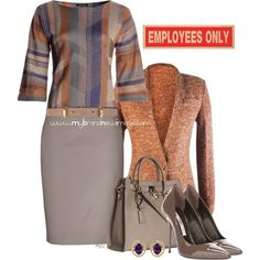 No. 601 - Office chic, created by elke-koscher on Polyvore