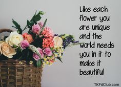 Good morning! #morning #goodmorning #morningquotes #flowers #beautiful #unique #world #happy #newday #beyou #TKFitClub Morning Morning, World Need, Need You, Feel Good, Positivity, Lettering, Beautiful, Day, Unique