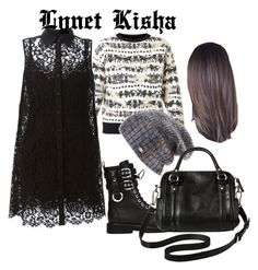 """gothic"" by lyn-kisha on Polyvore featuring Alexander McQueen, Dolce&Gabbana, Giuseppe Zanotti, Spacecraft and Merona"