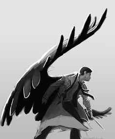Love this fanart supernatural fan art, supernatural drawings, angel blade s Sammy Supernatural, Supernatural Drawings, Angel Blade Supernatural, Castiel Angel, Mystery, Fandoms, Fanart, Misha Collins, Superwholock