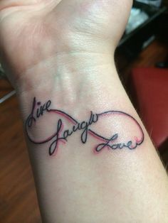 My boyfriends handwriting. Done by Frankie at American Classic Tattoo in…