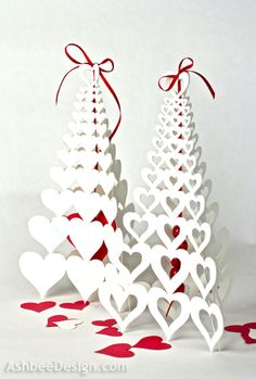 Ashbee Design: Valentine Paper Trees