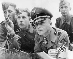 War volunteers of the Hitler Youth for the Waffen-SS, training by Captain Gerd Hein