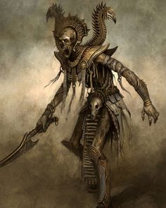 Days of DnD] Day Favorite Monster (Undead) Dark Fantasy Art, Fantasy Kunst, Fantasy Rpg, Medieval Fantasy, Warhammer Fantasy, Warhammer Tomb Kings, Fantasy Monster, Horror Art, Horror Pics