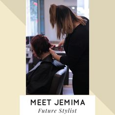 Meet Jemima from our Birstall Salon, she is one of our future stylists who is starting her transition onto the shop floor. Want to get a speical deal with on her a Monday? drop us a message #shapesfuture #birstallsalon