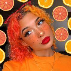 makeup aesthetic – Hair and beauty tips, tricks and tutorials Makeup Inspo, Makeup Art, Makeup Inspiration, Beauty Makeup, Hair Makeup, Hair Beauty, 90s Makeup, Makeup Blush, Orange Aesthetic