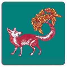 Avenida Home Puddin' Head Fox Placemat