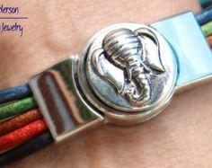 Tejido de algodón unisex pulsera o tobillera por SeaRanchJewelry