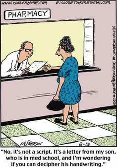 pharmacies Comic strips about