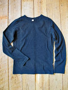 Indigo-dyed t-shirt // Pure Japan