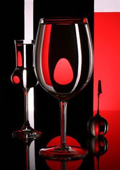 Black and Red Glasses.
