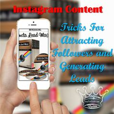 Instagram Content is literally the driving force behind being successful on Instagram. Without great content it will be nearly impossible to attract followers and generate leads.