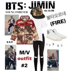 "BTS: JIMIN ""Fire"" M/V Outfit #2"