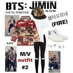 "BTS: JIMIN ""Fire"" M/V Outfit #2"