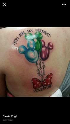Birthstone Mickey balloons