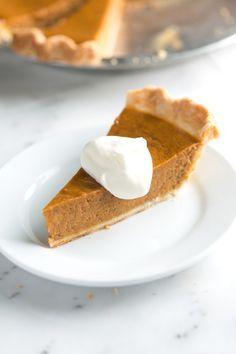 Pie recipes 282389839118906516 - No Fail, Homemade Pumpkin Pie Recipe – For Thanksgiving Source by maryfugle Pumpkin Pie From Scratch, Easy Pumpkin Pie, Homemade Pumpkin Pie, Pumpkin Pie Recipes, Pumpkin Puree, Easy Pie, Pumpkin Pie Recipe No Eggs, Pie Crust Recipe Video, Filling Recipe