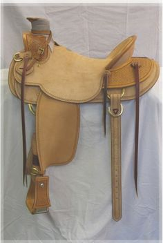 """Hand Crafted Wade Tree Saddle, available through Buckaroo Leather, your """"Made in the USA"""" Tack Company.  Visit their site:  http://www.buckarooleather.com/saddles/details/642/64/saddles/aaa-wade-buckaroo-ranch-saddle.html"""