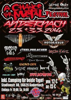 New-Metal-Media der Blog: Der New-Metal-Media Festival Guide - A Chance for Metal Festival #news #metal #festival #guide