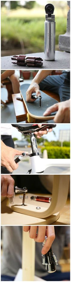 Cycop Bitool - Leave your toolbox at home. This flexible DIY tool will help you fix anything.