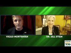 06 Nov '16:  The Courage to Go Green - Jill Stein Talks with Viggo Mortensen - YouTube - Jill Stein for President Booster Club - 39:16