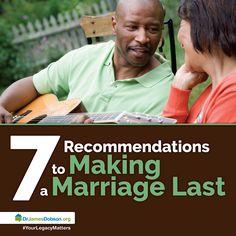 Making A Marriage Last http://www.drjamesdobson.org/Solid-Answers/Answers?a=0d8dd9f0-2124-4de5-9f7f-bffd0f9d6f3f&sc=FPN