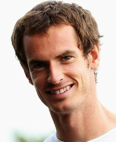 Found a photo of Andy smiling - it's a sign! Go on Murray! Tennis Wallpaper, Sport Tennis, Soccer, Wimbledon Champions, Andy Murray, All Smiles, Tennis Players, Olympics, Celebrities