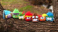 Puffles from club penguin