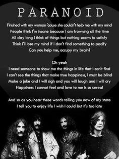 Black Sabbath~ Paranoid