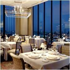 On the top floor of the Hilton Anatole near downtown, Nana Restaurant is famous for the view and the food. One of Dr. Fine's top recommendations for Dallas dining...he loves the scallops.
