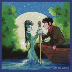 Freya and Merlin.