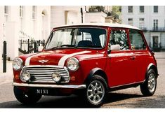 Rover Mini Cooper – A classic! Mini Cooper Classic, Classic Mini, Classic Cars British, British Car, Classic Style, Mini Morris, Mini Coopers, Audi A5, Nissan 370z