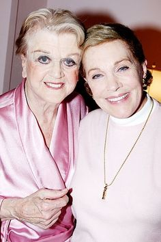 Angela Lansbury and Julie Andrews. Two of the greatest greats. Old Hollywood Movies, Hollywood Actor, Hollywood Stars, Classic Hollywood, Hollywood Glamour, Classic Movie Stars, Classic Movies, Angela Lansbury, Black Actors