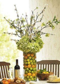 Fruit & flower cylinder