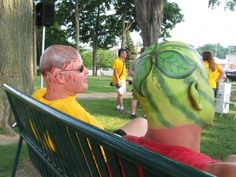 Melon Heads at the Howell Michigan Melon Festival