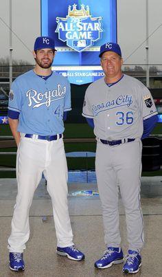 KC Royals new threads for dope. Baseball Uniforms, Sports Uniforms, American Football League, Association Football, San Diego Padres, Ice Hockey, Football Soccer, All Star, Mlb