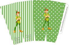 Peter Pan: cajas para imprimir gratis. 18 modelos diferentes.
