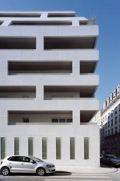 Logement rue de Meaux - ecdm's portfolio on archcase