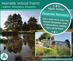 Morrells Wood Far, Leighton, Shrewsbury, Shropshire, England. Glamping. Camping. Campsite. Countryside. Holiday. Travel. Explore. Romantic. UK.