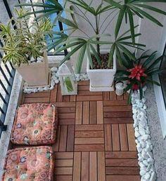 Yalıtımlı kış balkon zemini örneği   Kadınca Fikir - Kadınca Fikir Plants, Plant, Planets