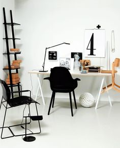 Desk and styling