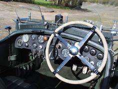 Interior of 1930 Bentley 4.5L VDP Open Tourer