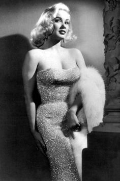 Mamie Van Doren, I have had the pleasure of working with her once, though she was 70 years old, she was fun, full of life and still sexy.