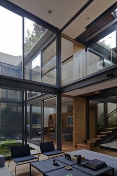 Andrés Stebelski Arquitecto - House with Four Courtyards