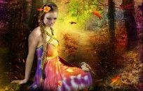*** Fantasia Beauty Autumn *** fundo desktop wallpaper