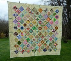 Blueberry Patch: Farmer's wife quilt along